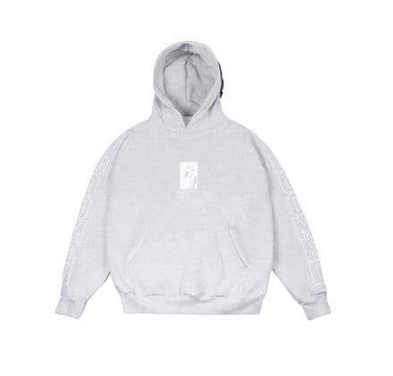 Doomed No Pity Hoodie Grey Large